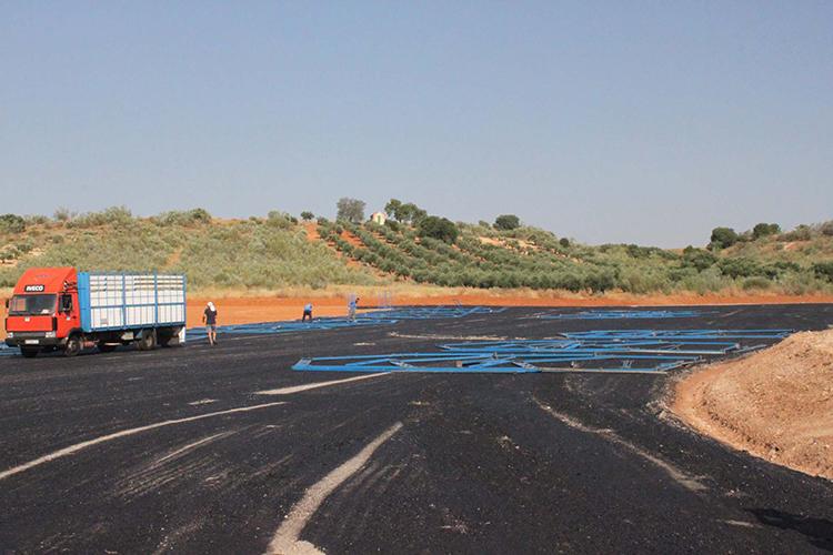 El nuevo espacio será utilizado por las peñas y posteriormente como aparcamiento