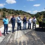 Diputación trabaja en la carretera de Alcolea del Pinar a Villaverde del Ducado