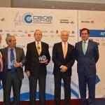 La CEOE-CEPYME Guadalajara celebra su 40 aniversario con reconocimientos a empresas e instituciones
