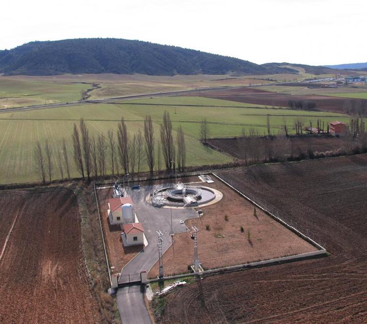 Una de las depuradoras de Castilla-La Mancha
