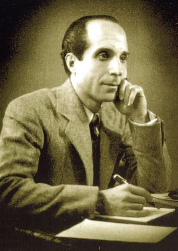 José Antonio Ochaíta, retratado por Luis Alberto Cabrera