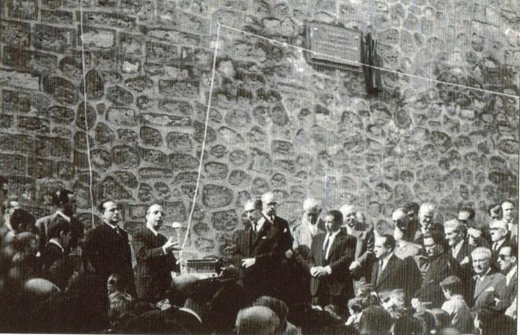 Cifuentes 1956. Homenaje a Francisco Layna, con intervención de J. A. Ochaíta