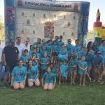 Albares acoge el Interpueblos de Natación coincidiendo con el 50 aniversario de su piscina municipal