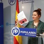 """Valdenebro: """"Gracias a las políticas del Partido Popular, hoy hace efectivo el incremento de las pensiones"""""""