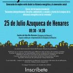 Azuqueca acoge el 25 de julio un encuentro sobre eficiencia energética en viviendas
