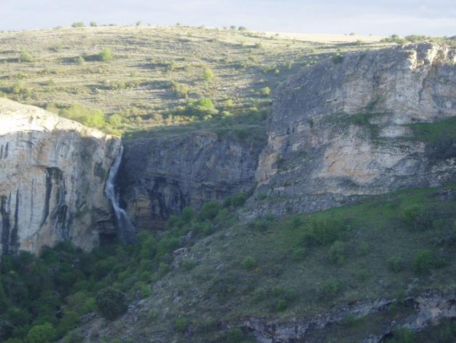 Cascada del Gollorío en el Barranco del Río Dulce