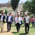 Zorita de los Canes cuenta con un nuevo parque fluvial que servirá para potenciar el turismo de la comarca