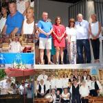 Mesones rinde homenaje a su 'Virgen Blanca' en una intensa jornada festiva de hermandad vecinal