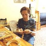 Exposición de piezas artesanas en paja en la Posada del Cordón hasta finales de agosto