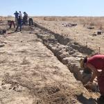 Salen a la luz las termas de la ciudad romana de Caraca