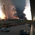 Opinión: Dos años desde el incendio de la planta de KUK en Chiloeches sin que se hayan retirado totalmente los residuos