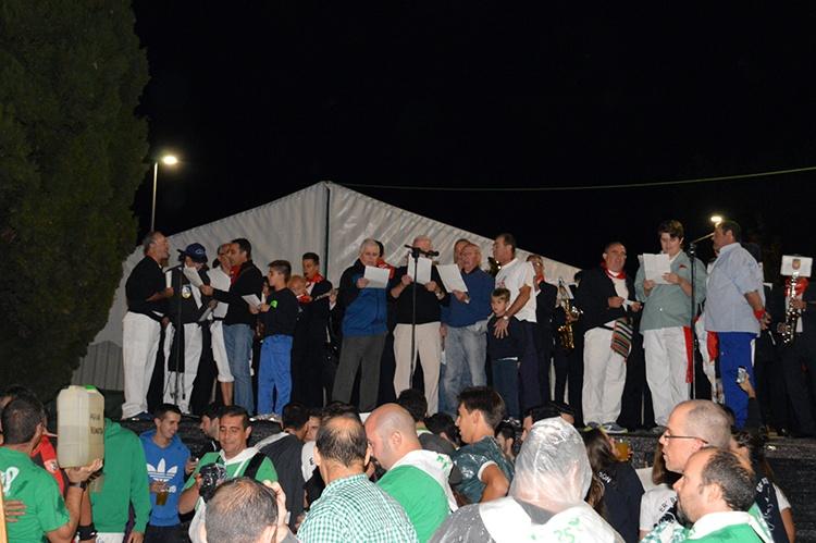 Imagen de archivo del pregón de las Fiestas de Septiembre de 2016. Fotografía: Álvaro Díaz villamil / Ayuntamiento de Azuqueca