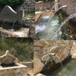 Tres fuentes en el Valle del Ungría