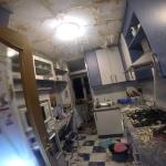 Dos heridos leves tras la deflagración de gas en General Vives Camino