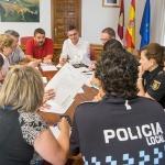 Policía Local, Guardia Civil y Policía Nacional se coordinan de cara a los próximos eventos en Marchamalo