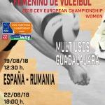 El  Multiusos, acoge dos de los partidos clasificatorios para el Campeonato de Europa Femenino de Voleibol 2019