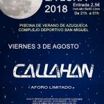 El programa 'Viernes a la luna' se despide con un concierto del grupo local 'Callahan'
