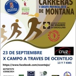 El domingo 23 de septiembre, en Ocentejo, cuarta carrera del Circuito de Montaña