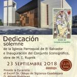 Este domingo, el obispo preside la dedicación del templo de El Salvador