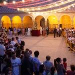 Arrancaron las fiestas de Alovera con su tradicional pregón y ofrenda