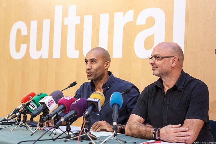 Garcia y Engonga en la presentación del próximo otoño cultural