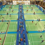 Más de 1.200 deportistas participan desde el lunes en los Campeonatos Europeos de Badminton Senior