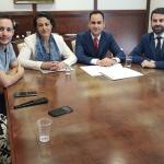 La ministra de Trabajo, Magdalena Valerio, visitó el Ayuntamiento de Cabanillas