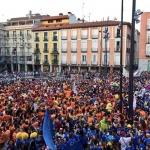 El Chupinazo reúne a miles de guadalajeños en la Plaza del Ayuntamiento
