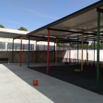 El Ayuntamiento de Yebes ultima las obras de mejora y mantenimiento del colegio para el inicio del curso