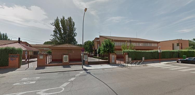 Colegio público Isidro Almazán, en el barrio de Los Manantiales
