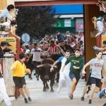 Tres heridos en un peligroso encierro, último de Feria
