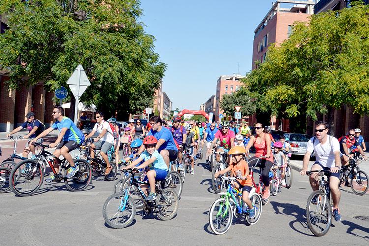 Día de la bicicleta. Fotografía: Álvaro Díaz Villamil / Ayuntamiento de Azuqueca