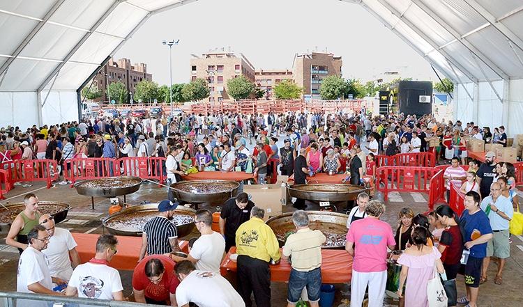 Comida popular. Fotografía: Álvaro Díaz Villamil / Ayuntamiento de Azuqueca