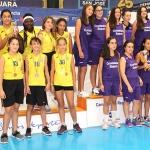 Gala de entrega de premios del Campeonato regional de Deporte en Edad Escolar