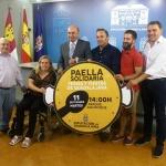 La Paella Solidaria de Ferias el próximo martes será a favor de la Asociación de Esclerosis Múltiple