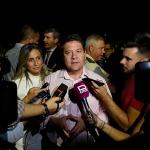 """El presidente García-Page, """"defraudado"""" ante el nuevo trasvase aprobado hoy, que considera """"una mala decisión del Gobierno"""""""