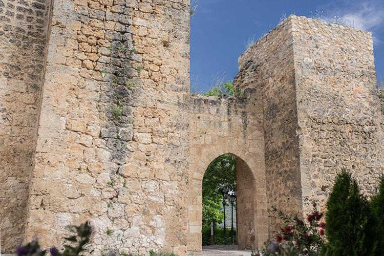 Muralla. Foto: Turismo Ayuntamiento de Brihuega