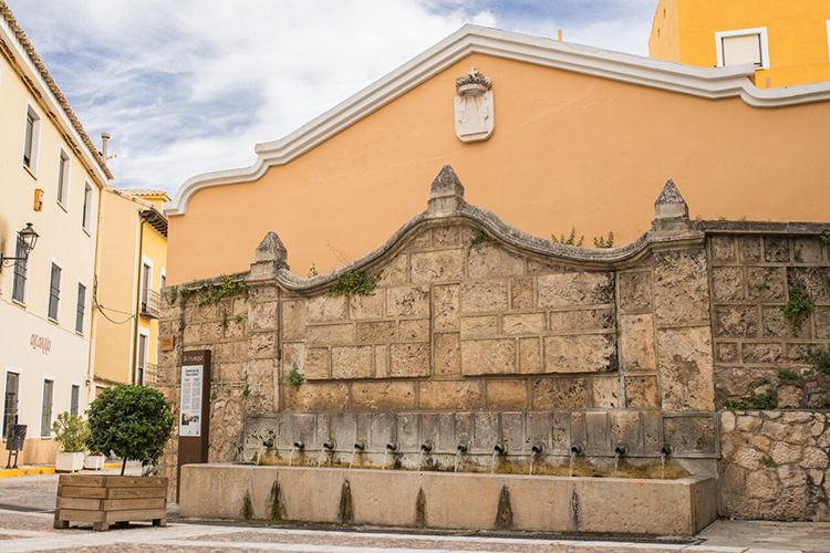 Fuente de los Doce Caños. Foto: Turismo Ayuntamiento de Brihuega