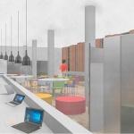 """La Biblioteca Municipal de Azuqueca dispondrá de una """"innovadora y vanguardista"""" sala de estudio"""