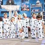 'Casi' 101 Dálmatas, campeones del divertido Concurso de Disfraces infantiles de Trillo
