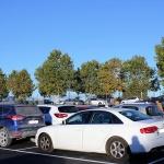 El aparcamiento del colegio de Yebes acaba con los problemas circulatorios de las entradas y salidas