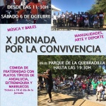 X Jornada por la convivencia este sábado en La Quebradilla de Azuqueca