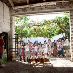Cabanillas disfruta de un brillante tercer Andariego, entre galgos, gallinas, ovejas y vacas