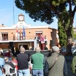 Nueva concentración del colectivo azudense de jubilados y pensionistas de Azuqueca