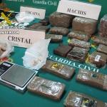 Detenidas 14 personas por la venta de drogas en Cabanillas del Campo, Marchamalo y Guadalajara