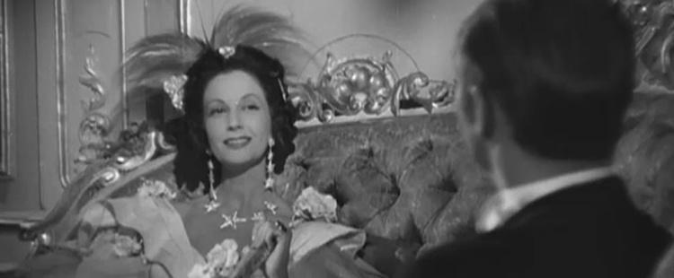 Lupe Sino en la película El Marqués de Salamanca, de Edgar Neville