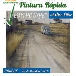 Horche celebra este fin de semana el XXIX Certamen Internacional de pintura al aire libre