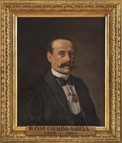 Retrato Oficial de Juan Catalina, como Director del Museo Arqueológico Nacional