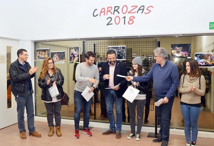 Un momento de la entrega de los premios a los ganadores del concurso. Fotografía: Álvaro Díaz Villamil/ Ayuntamiento de Azuqueca de Henares
