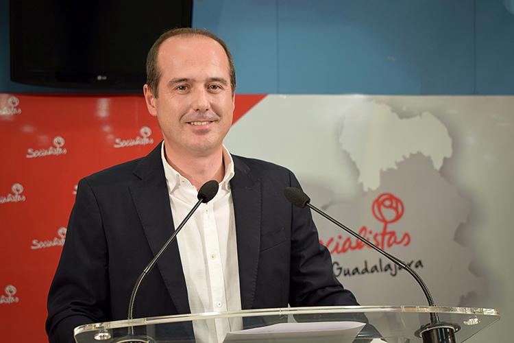 El socialista Alberto Rojo, actual delegado de la Junta, opta a la alcaldía de Guadalajara